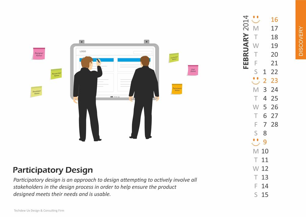 Participatory Design – February 2014